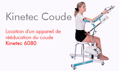 Location Attelle Kinetec Coude 6080